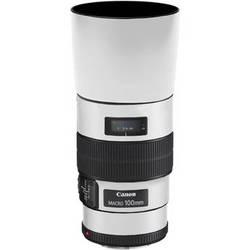 LensSkins Lens Skin for the Canon 100mm f/2.8 Macro IS Lens (Flat White)