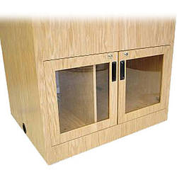 Sound-Craft Systems Acrylic Insert Doors With Lock