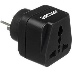 Watson Adapter Plug - 3-Prong USA to 3-Prong Israel (Type H, SI 32)