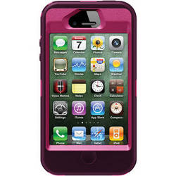 Otter Box Defender Case for iPhone 4/4s (Peony/Deep Pink)