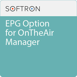 Softron EPG Option For OnTheAir Manager