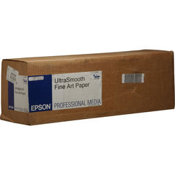 "Epson UltraSmooth Fine Art Archival Photo Inkjet Paper (17"" x 50' Roll)"