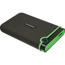 Transcend 1TB StoreJet 25M3 Anti-Shock External Hard Drive (Iron Gray)