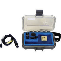 Voice Technologies VT500WATER Waterproof Omnidirectional Lavalier Microphone (Black)