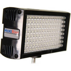 Flolight Microbeam 128 LED On Camera Video Light (3200K, Spot, Panasonic Battery Plate)