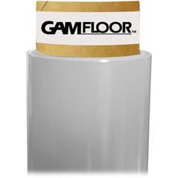 "Gam GamFloor Roll (48"" x 100' / 1.2 x 30.5 m), (Matte Clear - Frosted)"