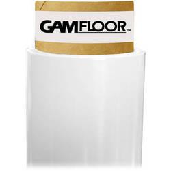 """Gam GamFloor Roll (48"""" x 100' / 1.2 x 30.5 m), (Gloss Bright White)"""