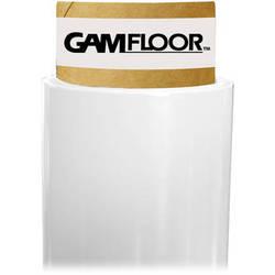 """Gam GamFloor Roll (48"""" x 100' / 1.2 x 30.5 m), (Matte Flat White)"""
