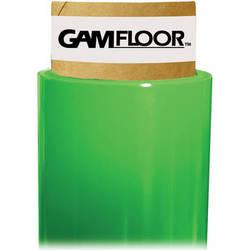 """Gam GamFloor Roll (48"""" x 100' / 1.2 x 30.5 m), (Matte Green - Chromakey)"""