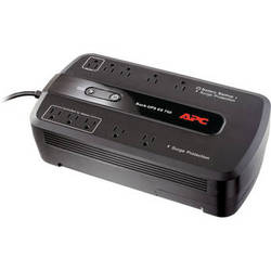APC BE750G Back-UPS 750 10 Outlet Surge Protector and Battery Backup (120V)