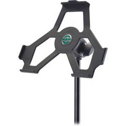 K&M iPad 2 Mic Stand Holder