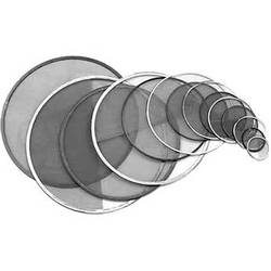 "Matthews 6-5/8"" Half Double Stainless Steel Diffusion Scrim"