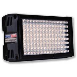 Flolight Microbeam 128 LED On Camera Video Light (3200K, Flood, Sony Battery Plate)