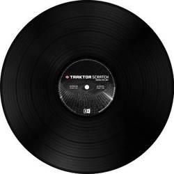Native Instruments TRAKTOR Scratch Control Vinyl Mark 2 (Black)