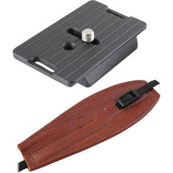 Camdapter Manfrotto Adapter with Chestnut Pro Strap