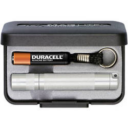 Maglite Solitaire 1-Cell AAA Flashlight with Presentation Box (Silver)