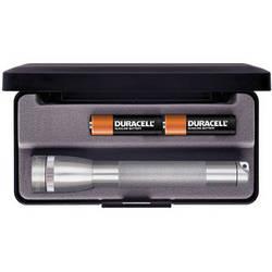 Maglite Mini Maglite 2-Cell AA Flashlight with Presentation Box (Grey)