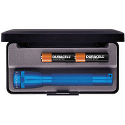 Maglite Mini Maglite 2-Cell AA Flashlight with Presentation Box (Blue)