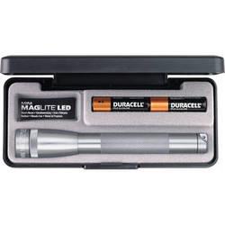 Maglite Mini Maglite 2-Cell AA LED Flashlight with Presentation Box (Gray)