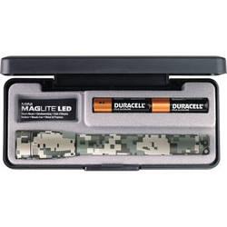 Maglite Mini Maglite 2-Cell AA LED Flashlight with Presentation Box (Universal Camo)