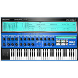 Waldorf PPG Wave 3.V Wave Synthesizer Plug-In