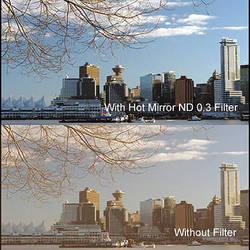 """Cavision 3 x 3"""" Hot Mirror Neutral Density 0.3 Filter"""