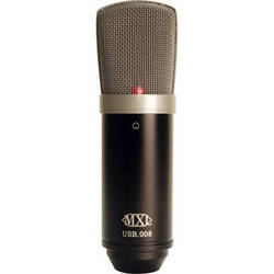 MXL USB.008 Large-Diaphragm Condenser Microphone with USB