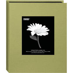 Pioneer Photo Albums DA-46CBF Mini Fabric Frame Album (Sage Green)