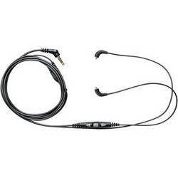 Shure CBL-M+-K-EFS In-Ear Headphone Accessory Cable with Mic and Remote