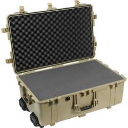 Pelican 1650 Case with Foam (Desert Tan)
