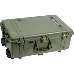 Pelican 1650NF Case without Foam (Olive Drab Green)