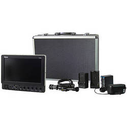 "ikan VX9e 8.9"" HD-SDI LCD Monitor Deluxe Kit with Panasonic D54 Battery, Plate, Charger & Case"