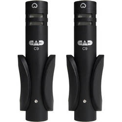 CAD C9S Cardioid Condenser Microphones (Matched Pair)