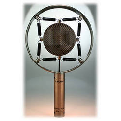 Cascade Microphones Knuckle Head Short Ribbon Microphone with Distressed Antique Copper Finish (Lundahl LL2912 Transformer)