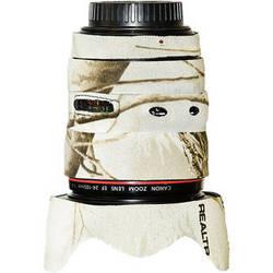 LensCoat Lens Cover for the 24-105mm f/4.0L IS USM AF Lens (Realtree AP Snow)