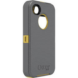 Otter Box Defender Case for iPhone 4/4s (Sun Yellow/Gunmetal Grey)