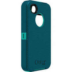 Otter Box Defender Case for iPhone 4/4s (Light Teal/Deep Teal)