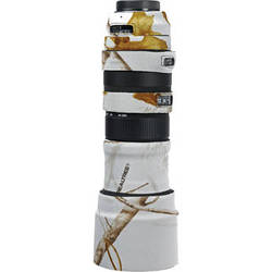 LensCoat Lens Cover For the Sigma 150-500mm f/5.6-6.3 DG OS HSM APO Lens (Realtree AP Snow)