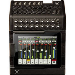 Mackie DL1608 iPad-Controlled 16-Channel Digital Live Sound Mixer with 30-Pin Connector