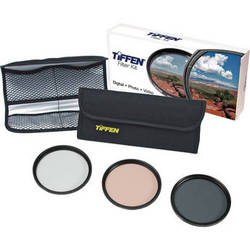 Tiffen 62mm Photo Essentials Filter Kit