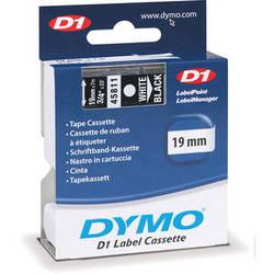 """Dymo Standard D1 Tape (White on Black, 3/4"""" x 23')"""