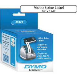 """Dymo LabelWriter VHS Video Spine Labels (3/4 x 5-7/8"""")"""