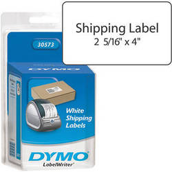 "Dymo 30573 Blister Pack of White Shipping Labels (2-1/8 x 4"")"