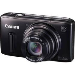 Canon PowerShot SX260 HS Digital Camera (Black)