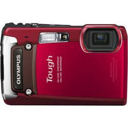 Olympus Tough TG-820 iHS Digital Camera (Red)