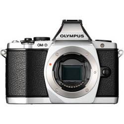 Olympus OM-D E-M5 Mirrorless Micro Four Thirds Digital Camera (Body, Silver)