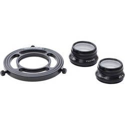 Aquatica Complete Close Up Kit With +5 / +10 Wet Diopter Lenses / Macro Port Lens Holder