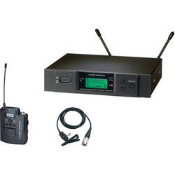 Audio-Technica ATW-3131b Wireless Lavalier Microphone System (Band C: 541.500 - 566.375 MHz)