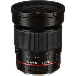 Rokinon 24mm f/1.4 ED AS UMC Wide-Angle Lens for Canon