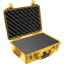 Pelican 1500 Case with Foam (Yellow)